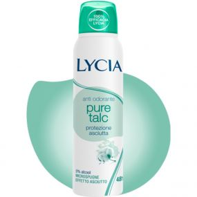 DEODORANTE SPRAY PURE TALC