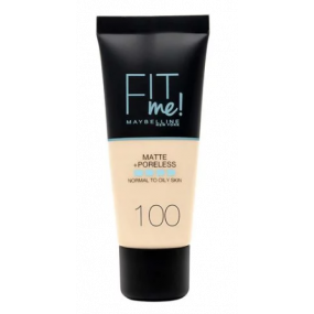 FONDOTINTA FIT ME MATTE + PORELESS 100