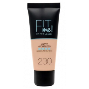FONDOTINTA FIT ME MATTE + PORELESS  230