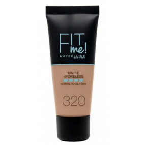 FONDOTINTA FIT ME MATTE + PORELESS  320