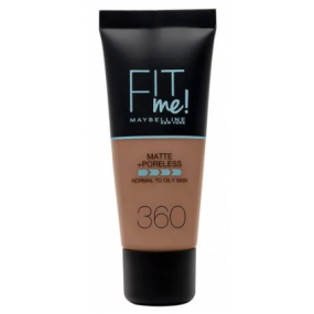 FONDOTINTA FIT ME MATTE + PORELESS  360