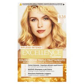 COLORANTE EXCELLENCE INTENSE BIONDO CHIARO DORATO 8.34