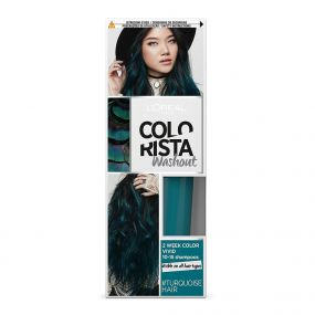 COLORAZIONE TEMPORANEA WASHOUT TURQUOISE HAIR